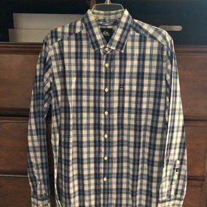 QuickSilver Mens Flannel Button Down size Small